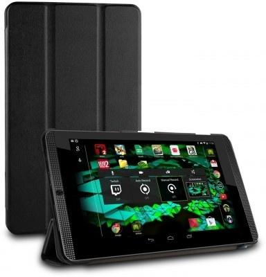 qMust Nvidia Shield K1 Smart Tri-Fold Case - Black