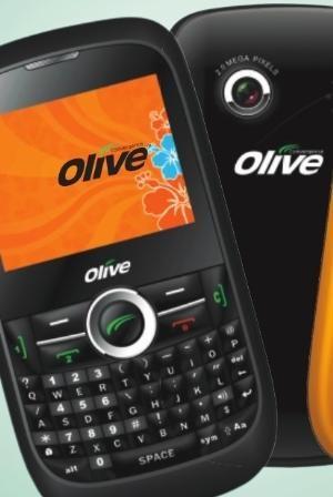 Olive triple-sim phone