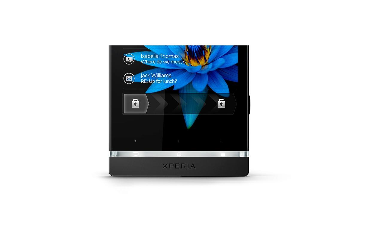 Sony Xperia S Zwart