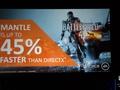 Mantle-presentatie Battlefield 4-prestatiewinst