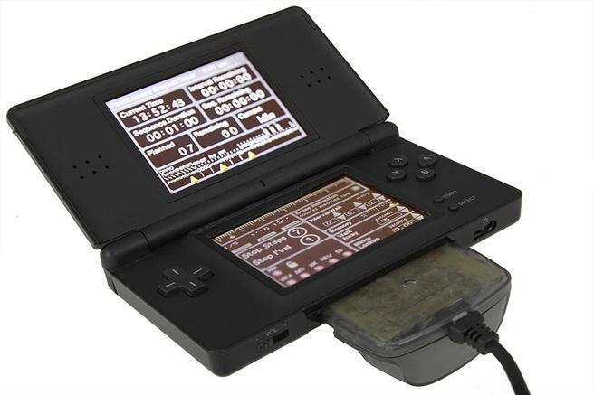 Nintendo DS met de interface