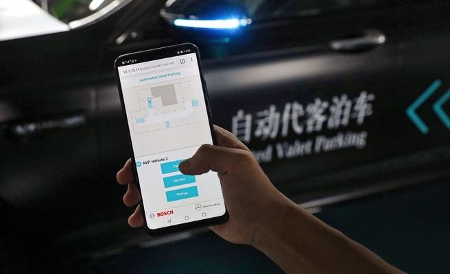 Mercedes parkeren app