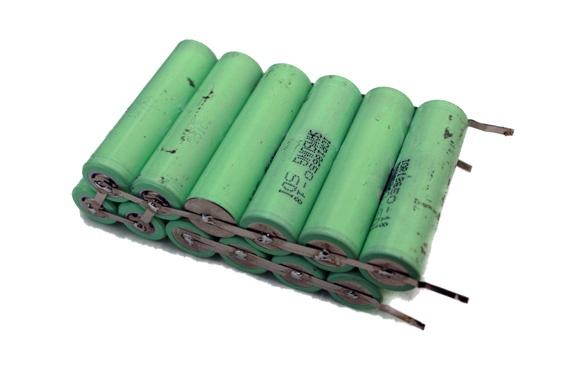 De ruwe batterij