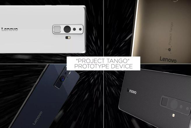 Lenovo Project Tango