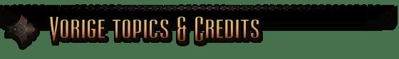 Vorige topics & credits