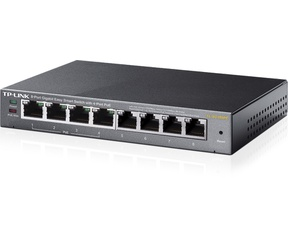 TP-Link 8-Poorts Gigabit Easy Smart Switch met 4-Poorts PoE TL-SG108PE