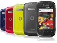 Vodafone Smart II Zwart (Vodafone-prepaid)