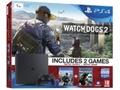 Goedkoopste Sony PlayStation 4 Slim 1TB + Watch Dogs 1 en 2 Zwart