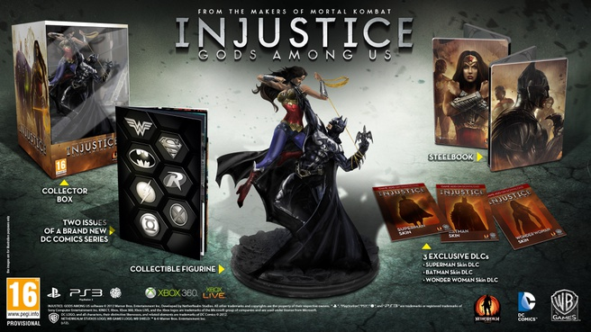 Injustice: Gods Among Us Collectors Edition, PlayStation 3