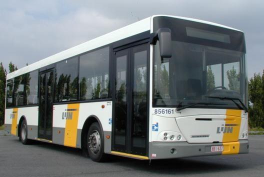 Vlaamse bus van De Lijn