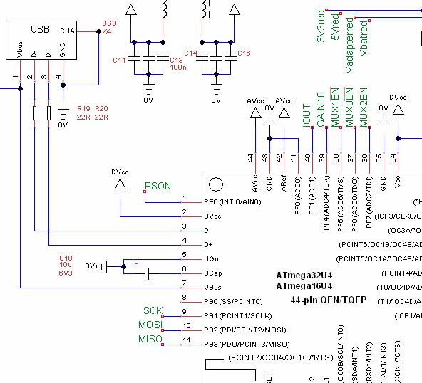 MADPSU schematic - sheet 3 (detail, click for complete schematic)