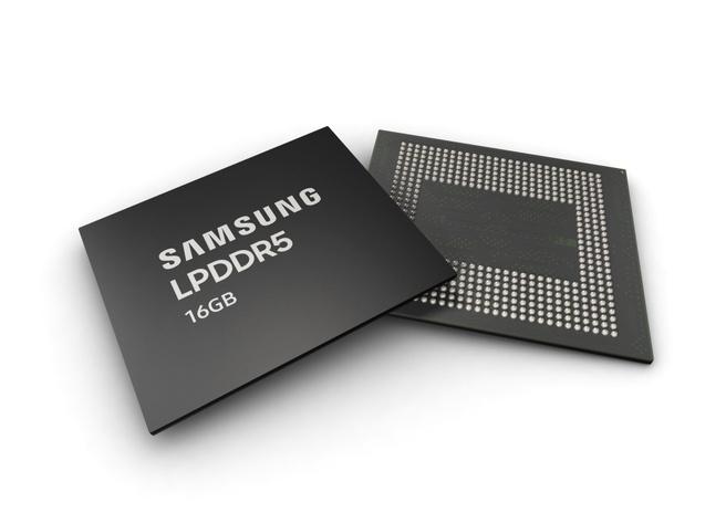 Samsung 16GB lpddr5 10nm