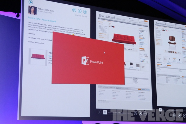 Powerpoint Windows RT alpha
