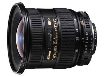 Huidige versie Nikkor 18-35mm
