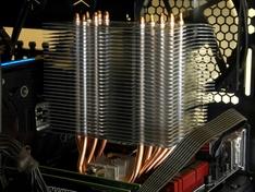 Hyper 612 V2 koelerblok passief in gebruik