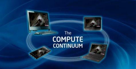IDF 2011 Intel Compute Continuum