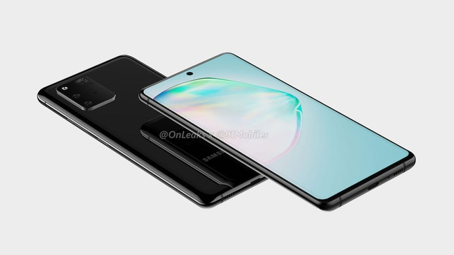 Samsung Galaxy A91-renders