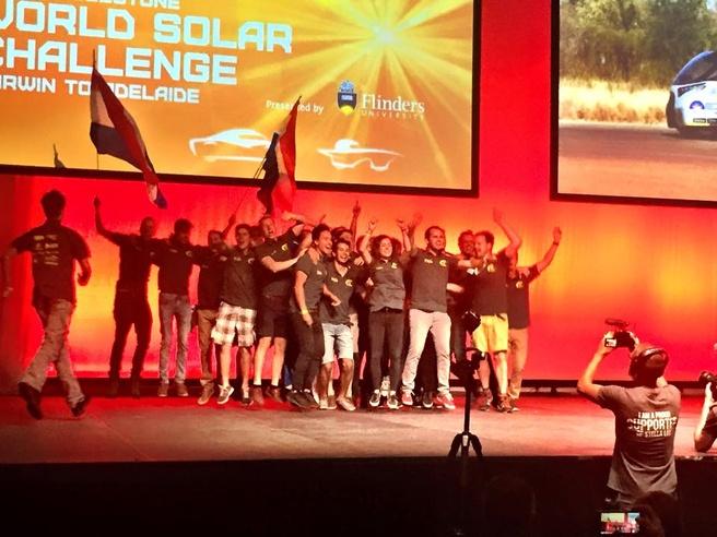 World Solar Challenge 2015 prijsuitreiking