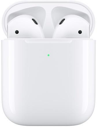 Apple Airpods (2019) met draadloze oplaadcase (Wit)