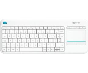 Logitech K400 Plus Wireless Touch Keyboard (Azerty FR) Wit