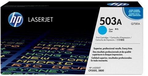 HP Q7581A Cyan Print Cartridge
