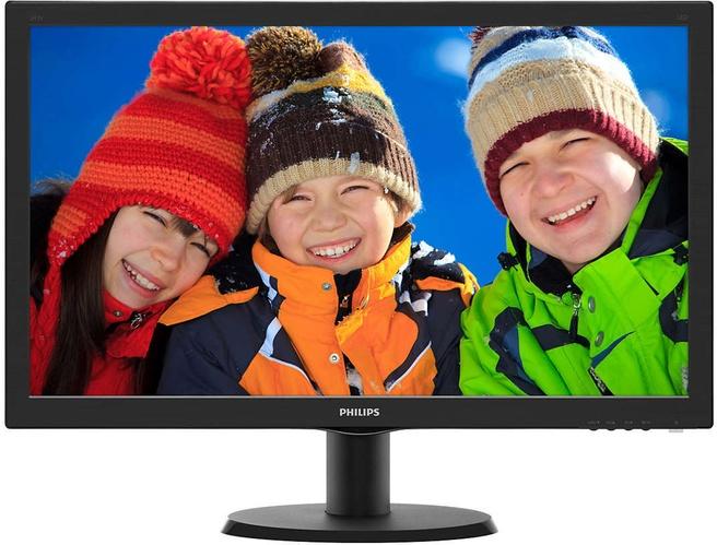 Philips LCD-monitor 243V5QSBA/00 Zwart