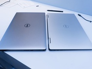 Dell XPS 15 (links) en Dell XPS 15 2-in-1 (rechts)