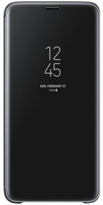 Samsung Galaxy S9+ Clear-View Standing Cover EF-ZG965CB - Zwart  Zwart