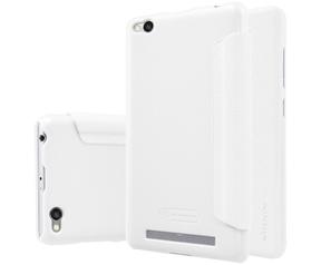 Nillkin New Sparkle Book Caser voor Xiaomi Redmi 3 - Wit Wit