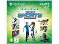 Goedkoopste Microsoft Xbox 360 Slim 4GB + Kinect Sports Season 2 + Kinect Adventures + Kinect Zwart