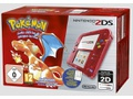 Goedkoopste Nintendo 2DS Transparant Rood + Pokemon Red Version