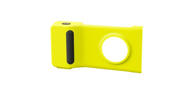 Nokia Extended Battery Camera Grip PD-95G Lumia 1020 Geel