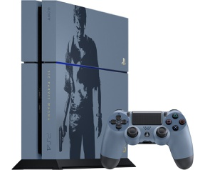 Sony PlayStation 4 1TB Uncharted Limited Edition + Uncharted 4: A Thief's End Grijs