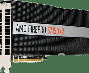 AMD FirePro S7150 en FirePro S7150 X2