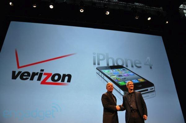 Apple iPhone 4 bij Verizon Wireless