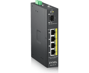 ZyXEL RGS100-5P Unmanaged Rugged Switch