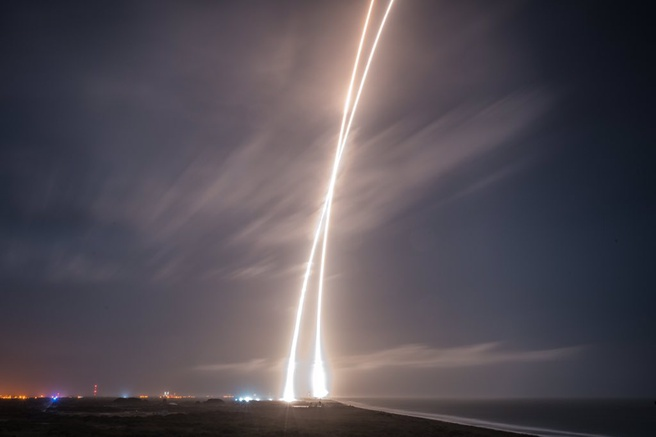 SpaceX Falcon9 landing