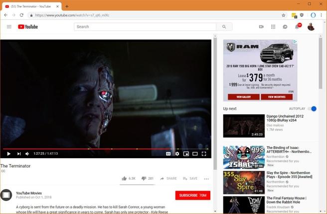 YouTube gratis films