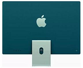 "Apple iMac 24"" Retina 4.5K (2021) M1, 8-core GPU, 8GB, 256GB ssd (Qwerty toetsenbord), Groen"