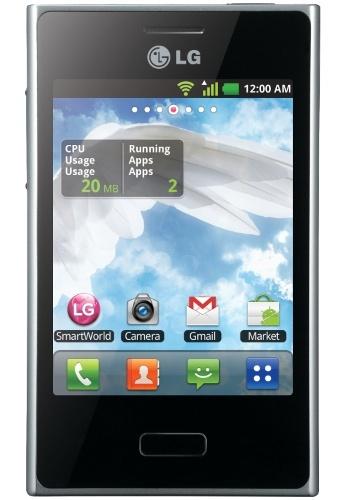 LG E400 Optimus L3 Black