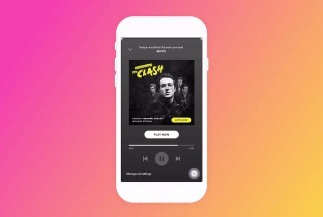 Spotify voice-ads