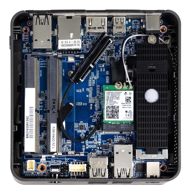 AMD Brix binnenkant