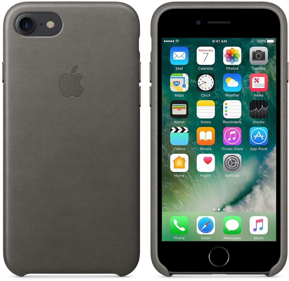 Apple leren iphone 7 hoesje