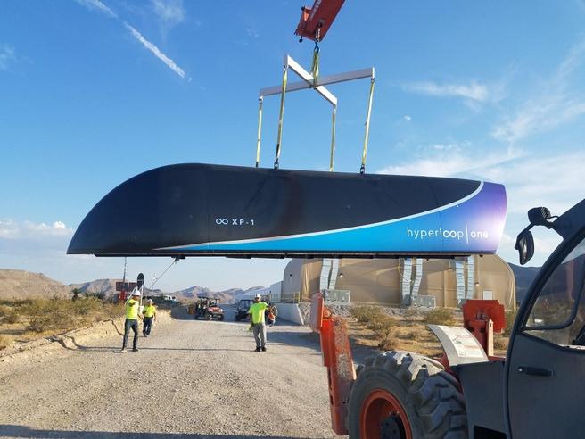 Hyperloop One-test