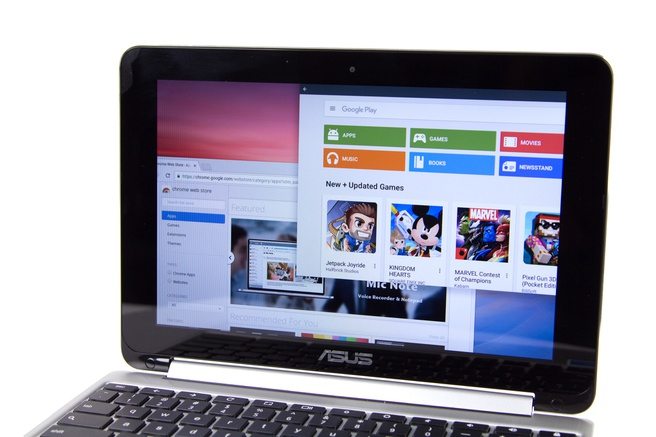Play Store op Chrome OS