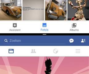 Android Nougat multitasking screenshots