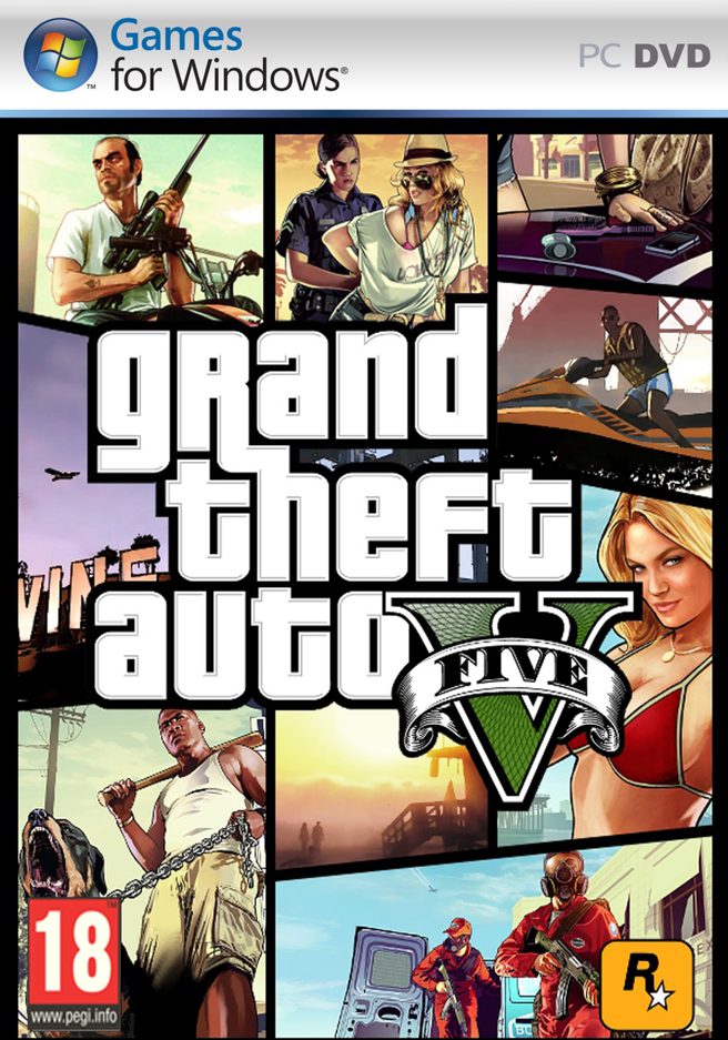 Grand Theft Auto Grand Theft Auto V + Great White Shark cash card, PC (Windows)