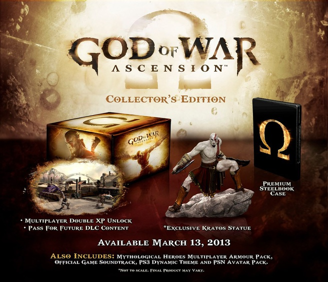 God of War: Ascension Collectors Edition PlayStation 3