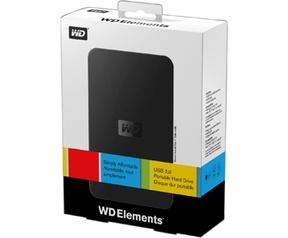 Western Digital Elements Portable 320GB Zwart