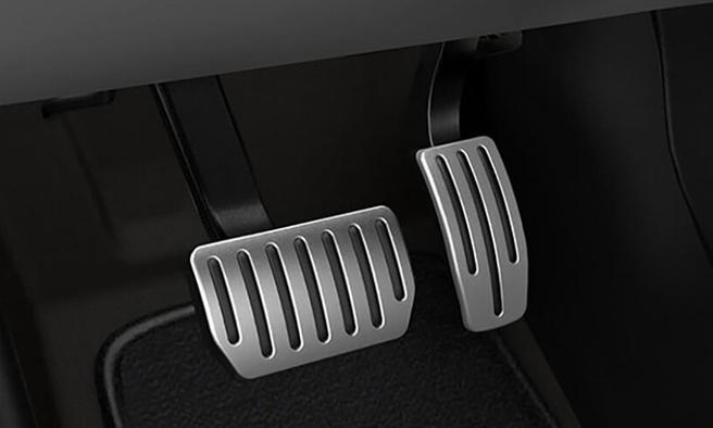 One-pedal-driving (met voornamelijk het gaspedaal)